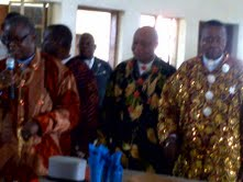 11TH ANNIV OF AMACHREE XI (10)- HRH CHIEF HARRY WITH SOME OTHER CHIEFS - 10