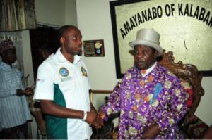 Gov. Amaechi and  King TJT Princewill
