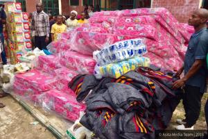 SOME OF THE ITEMS DONATED BY PST COLE