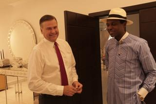 us ambassador to nigeria, william stuart symington and arch. tonye cole3
